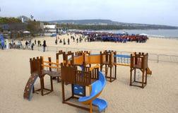 Record del mondo di Guinness messo a Varna Bulgaria Fotografia Stock