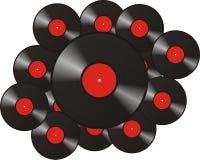 Record di musica Fotografie Stock Libere da Diritti