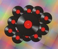 Record di musica Fotografia Stock