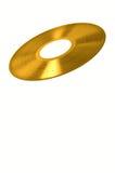 Record di vinile dell'oro Immagini Stock