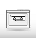 record icon  design Royalty Free Stock Photo