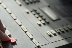 Record knob Stock Image