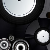 Record music background Royalty Free Stock Photos