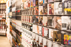Record Music Store royalty free stock photo