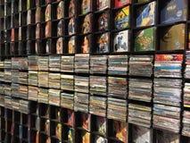 Record music store stock photo