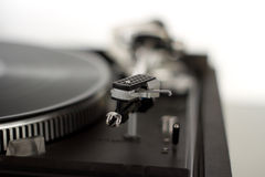 Record player. The picture shows a record player royalty free stock image