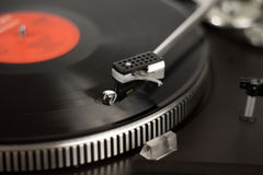 Record player. The picture shows a record player royalty free stock photo