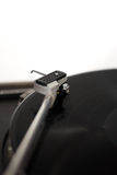 Record player. The picture shows a record player royalty free stock photography