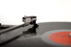 Record player. The picture shows a record player royalty free stock photos