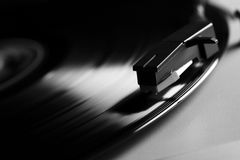 Record player. Old record LP and player Stock Images