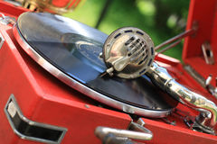 The record player Royalty Free Stock Photo