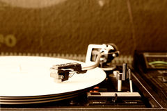 Record player Royalty Free Stock Photos