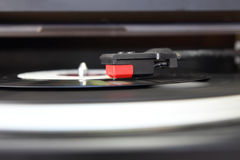 Record player closeup Royalty Free Stock Image