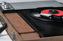 Record player desaturate Stock Images