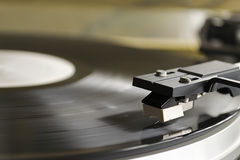 Record player detail Royalty Free Stock Photography