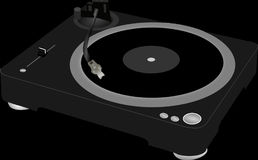 Record Player, Gramophone Royalty Free Stock Images