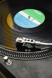 Record player - long play - turn table Royalty Free Stock Photo