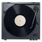 Record Player with Vinyl Record Stock Photography