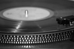 Record and Turntable Royalty Free Stock Photos