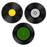 Record (vinyl). 3d render of audio record (vinyl Stock Photography