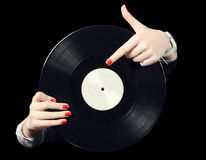 Record vinyl Royalty Free Stock Photo