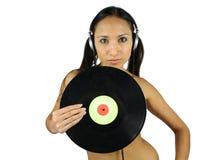 Record woman Royalty Free Stock Photos