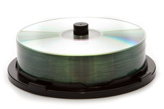 Recordable Compact Discs Royalty Free Stock Image