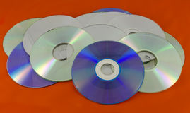 Recordable digital optical storage discs Royalty Free Stock Photography
