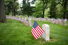 Recordando heróis da guerra Imagem de Stock Royalty Free