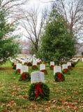 Recordando soldados americanos caídos Fotografia de Stock Royalty Free