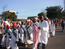 Recordar al profeta santo en África Foto de archivo