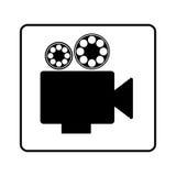 Recorder short film icon Stock Photos