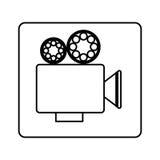 Recorder short film icon Royalty Free Stock Photos