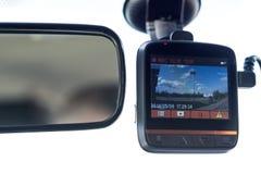 Recording car camera Royalty Free Stock Photo