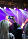 Recording concert Stock Photos
