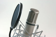 Recording microphone filter Royalty Free Stock Photos