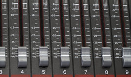 Recording Mixer Royalty Free Stock Images