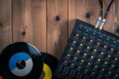 Recording mixer Stock Images