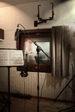 Recording room studio Royalty Free Stock Images