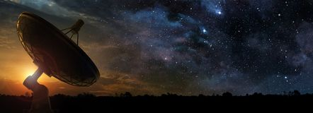 Recording the sound of the universe Stock Images