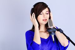 Recording Studio Stock Images