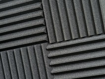 Recording studio acoustic tiles Royalty Free Stock Photo