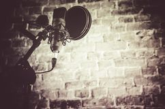 Recording Studio Equipment Royalty Free Stock Photo