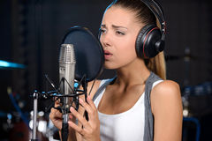 Recording Studio Royalty Free Stock Photo