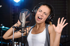 Recording Studio Royalty Free Stock Photos