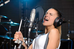 Recording Studio Stock Image