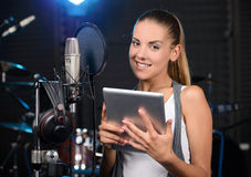 Recording Studio Stock Photos