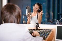Recording Studio stock photography