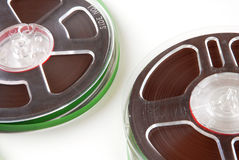 Recording tapes Stock Photos
