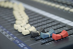 Recording Unit Levels Royalty Free Stock Images
